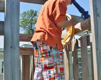 Capeside Cargo Pants Shorts PDF pattern - Ellie Inspiredpattern - sizes 1-16