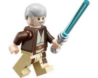 Obi Wan Kenobi custom Star Wars Minifigure fits LEGO