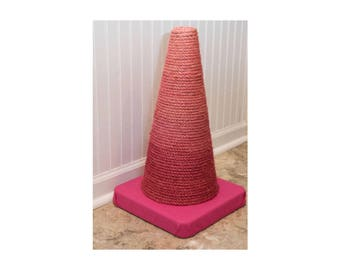 Pink Ombre Cat Scratching Post