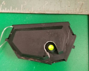 Solid eye with LED light