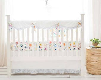 Floral Wildflower Baby Bedding Set