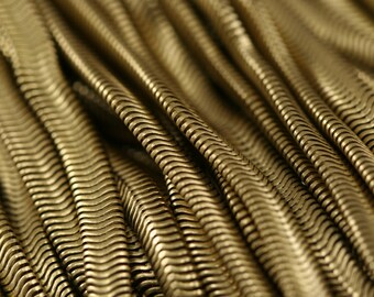Snake Chain 1 mt 3,3 feet 5 mm 0.2 inch Raw Brass
