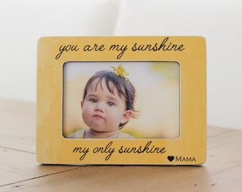 Expecting Pregnancy GIFT for New Mom Ultrasound Photo You Are My Sunshine Quote for Soon To Be Mom
