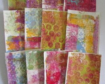 journal pages gelli print doodle paper art journal junk journal printed book pages