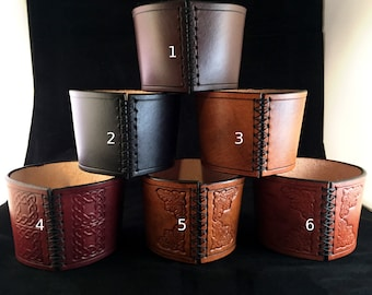 Leather Coffee Insulators/Sleeves
