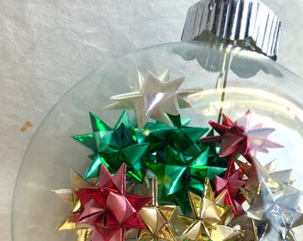 star filled ornament -Holiday Shimmers