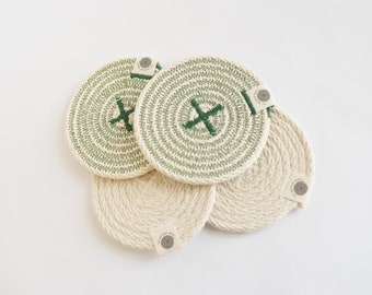 Rope coasters (Set of 4)