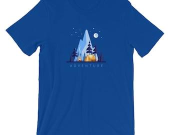Mountain Camping Adventure T-Shirt