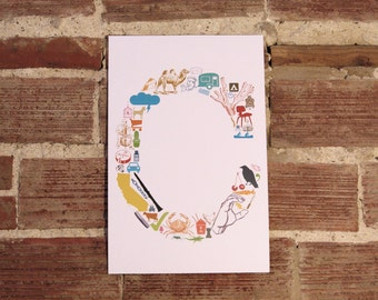 C is for... (11 x 17 Letter C Poster)