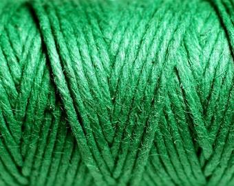 3 meters - 1.5 mm Green hemp twine cord - 4558550083753