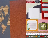 Set of 3 Travel Theme Jou...