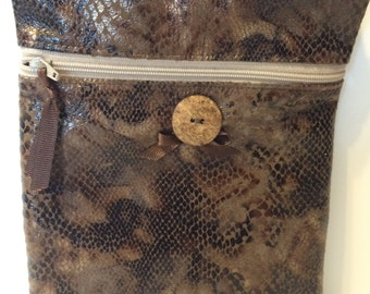 Quilted Small Cross Body Bag