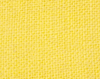 """8oz Yellow Burlap by the Yard - 46"""" Wide, 100% Jute"""