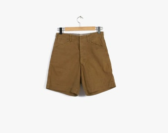 Vintage 40s SHORTS / 1940s - 50s BSA Boy Scout Uniform Shorts S