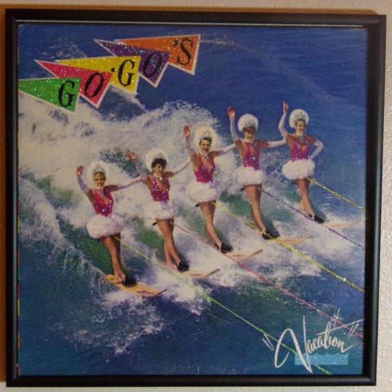 Glittered Record Album - Vacation - GoGo's