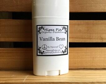 Organic Deodorant Natural Deodorant Vanilla Deodorant