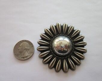 Vintage Mexican Silver Pin