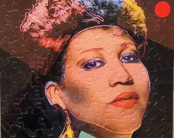 Aretha Franklin Album Cover Puzzle