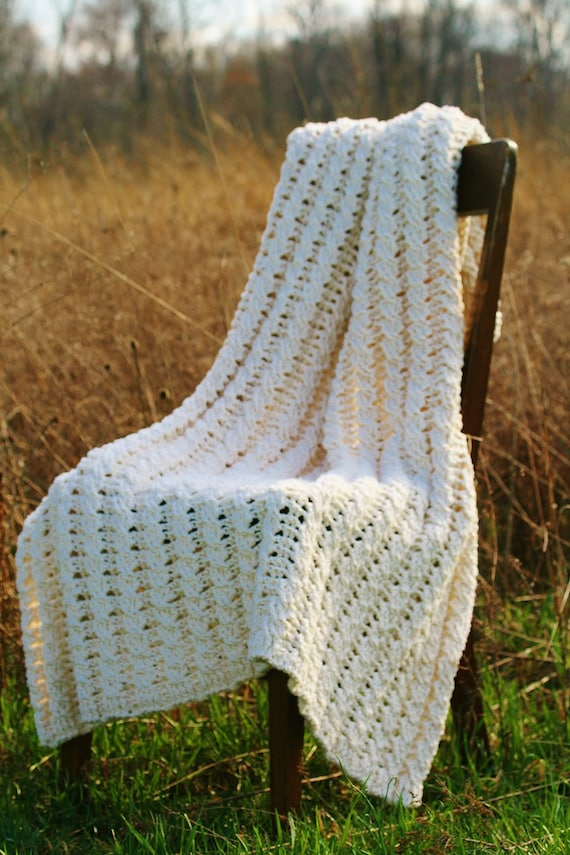 Crochet Afghan Pattern Blanket The Nancy Afghan Crochet
