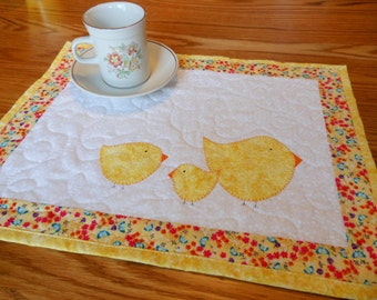 Seasonal Placemats: Set #3 PDF Pattern