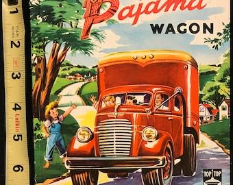 The Big Red Pajama Wagon - Whitman Top Top Tales #2479:25