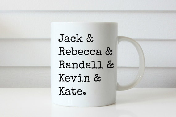 this is us mug jack rebecca kate kevin randall pearson tv mug tv show mug this is us show mug randall pearson mug