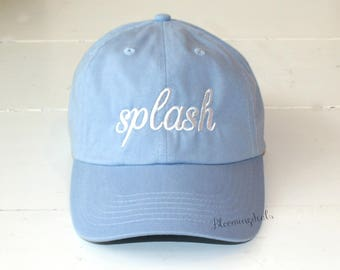 Custom Hats, Personalized Baseball Caps, Classic Dad Cap, Youth and Adult Unisex Hats