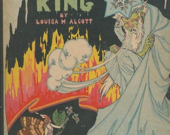 The Frost King by Louisa May Alcott illustrated by Marie Schubert Frobisher ca. 1925