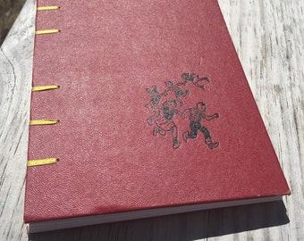 Children Playing Red Sketch Journal