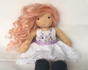 9 inch Waldorf Inspired Doll