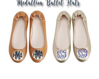 Monogram Medallion BALLET Flats