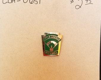 Lapel pin- Little league