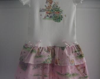 12 Month - 5T Toddler Girl T-Shirt Dress