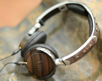 Steampunk LSTN Headphones made to order!!