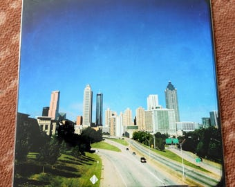 10x10 sleeved prints -  Skylines, Cemeteries, Architecture - Atlanta, Savannah, Portland, San Antonio