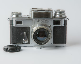 Vintage RARE 1955! Kiev-3 Soviet 35 mm rangefinder camera Contax copy