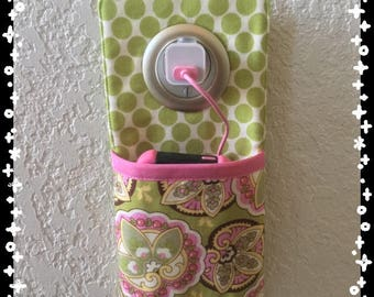 iPhone, iPod wall docking station ***Amy butler  ***