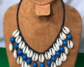 African Cowrie Shells Necklaces