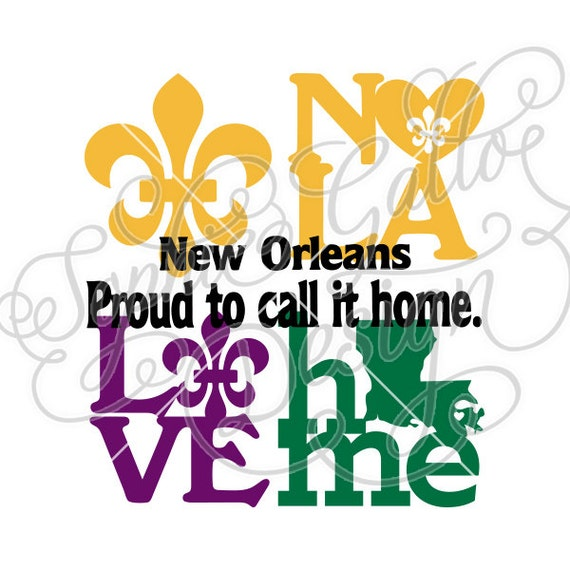 new orleans louisiana love svg dxf png digital download files rh etsy com new orleans clip art pictures new orleans skyline clip art