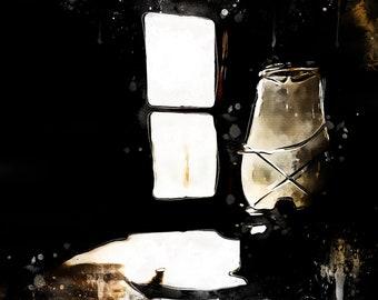 Ye olde paraffin lamp | Digital Download