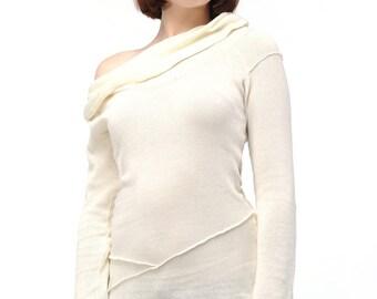 "off-white sweater tunic ""Benibelt"""