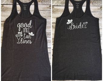Bride Swimsuit Coverup, Bridesmaid Swimsuit Cover Up, Monogrammed Beach Coverup, Tank dress, Bridesmaid Gifts, Bachelorette Tank Dress