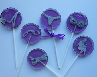 Set 6 Naughty 50 Shades sexy Lollipops