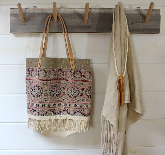 Kantha Quilt Tote