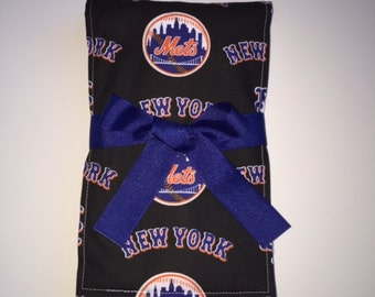 New York Mets diaper burp cloth, Cloth diaper burp cloth, Burp rags, Baby shower gift, Baby diaper burp cloths