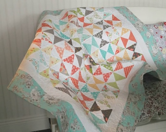 Baby Quilt, Baby Shower Gift, Cot Quilt