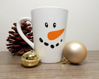 Snowman, Snowman Mug, Snowman Cup, Christmas Cups, Christmas Mug, Snow Man, Christmas Gift Ideas, Holiday Mug, Holiday Gift Guide, Grab Bag