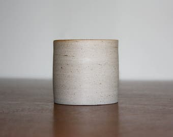 Small Speckled Gray Planter