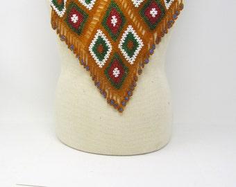 Beaded Kuchi Tribal Collar