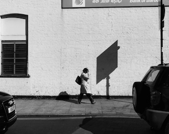 Black And White London Photography, Black And White London Print, Southall Print, Southall Photo, Photography, Fine Art Photography